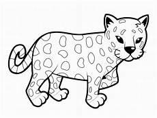 malvorlagen kostenlos leopard tippsvorlage info