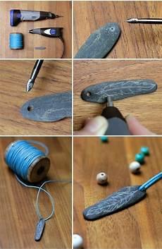 Gravieren Selber Machen - diy gringered things chain feather stein