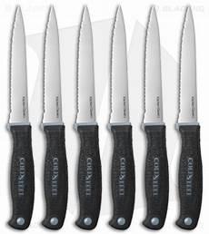 cold steel kitchen knives cold steel steak knives kitchen knife set 6 pack 59kss6z