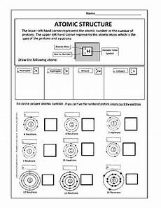 atomic structure worksheet by scorton creek publishing kevin cox