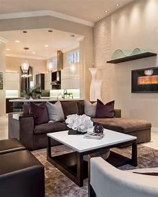 wohnzimmer modern braun decorative chocolate brown image gallery in living