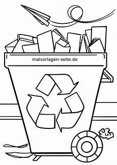 malvorlage umweltschutz recycling kostenlose ausmalbilder