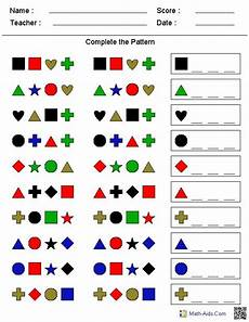 patterns and algebra worksheets pdf 22 a pattern worksheet generator shapes colors skip counting and more math activities