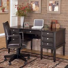 home office furniture sets carlyle home office set w storage leg desk signature