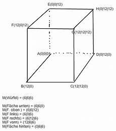 fehlende eckpunkte der koordinaten berechnen vektoren
