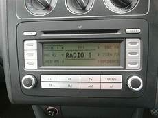 volkswagen golf passat touran caddy radio cd player