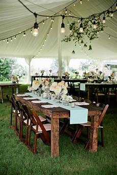 elegant rustic reception decor