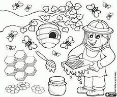 malvorlagen bienenstock coloring and malvorlagan