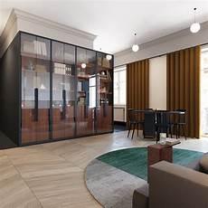 Wohnung Design Ideen - 600 square apartment design with wonderful maximalist