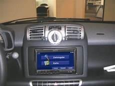 din radio frame smart fortwo 451 until facelift