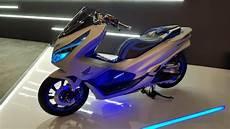 Variasi Motor Honda Pcx 150 by Deretan Modifikasi Honda Pcx Yang Menginspirasi Otomotif