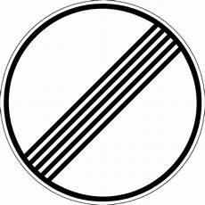 Welche Verbote Werden Mit Diesem Verkehrszeichen Aufgehoben - frage 1 4 41 133 welche verbote werden mit diesem