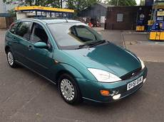 Ford Focus Ghia 1 6cc 2001 5dr Moted Manual Green Quot In