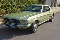 1967 Ford Mustang In Lime Gold  Classic