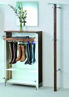 Schuhschrank Für Stiefel - hochwertiger und moderner schuhschrank aus nussbaum massiv