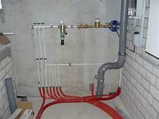 sanitärinstallation selber machen bautagebuch fronhoven 187 heizungs und sanit 228 rinstallation