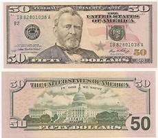 Billete De 50 D 243 Lares Americanos