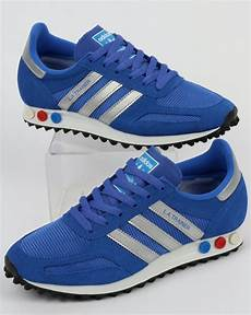 adidas la trainer hi res blue silver shoes original runner