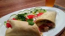 Mexikanische Tortilla Wraps Mit H 228 Hnchenf 252 Llung Rezept