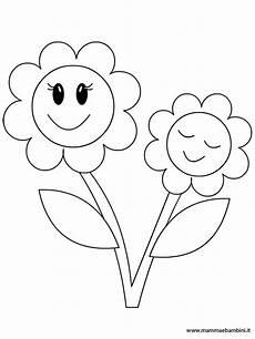 fiori da colorare per bambini festa mamma mamma e bambini
