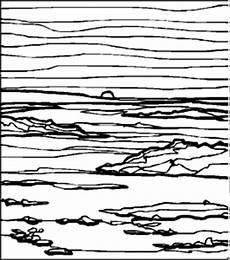 Malvorlagen Landschaften Gratis Free Landschaft Streifen Ausmalbild Malvorlage Landschaften