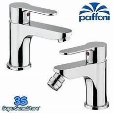 rubinetti paffoni 3s coppia miscelatori paffoni lavabo e bidet rubinetti