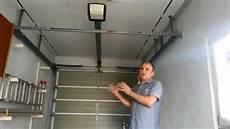 einbau eines elektrischen garagentor 246 ffner