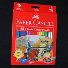 pensil warna faber castell classic colour 48