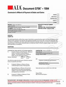 aia g706 form fill online printable fillable blank