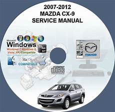 car repair manual download 2012 mazda cx 9 seat position control mazda cx 9 service repair manual on dvd 2007 2012 owner s manual cx9 www