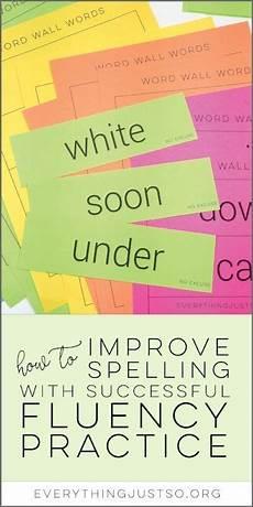 spelling improvement worksheets 22426 how to improve spelling accuracy with fluency fluency activities fluency practice word work