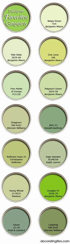 green paint colors favorite picks from designers with