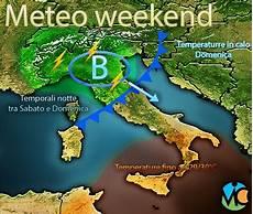 Meteo Weekend Peggioramento Al Nord Italia Con Piogge E
