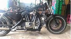Biaya Custom Motor by Semangat Putra Motor Modifikasi Mesin Jadi 2 Silinder