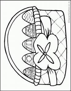 Osterhase Malvorlagen Gratis Versenden Osterkorb Osternest Ausmalbilder Malvorlagen 100