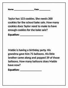 addition and subtraction word problems worksheets grade 3 9210 this handout includes a mixture of both addition and subtraction word problems with an emphasis