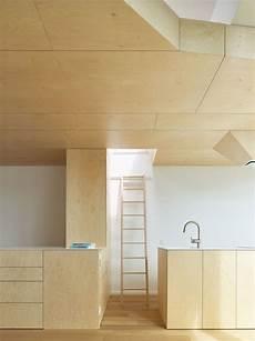 Armoire Bois Et Blanc Moderne Dans Un Appartement Design