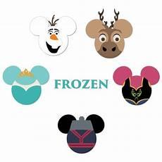 mickey heads frozen die cuts