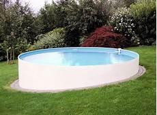 Pool 500x120cm Rundpool Stahlwandbecken Stahlwandpool Rund