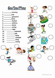 sports worksheets for esl students 15722 do go play sports esl worksheets for distance learning and physical classrooms
