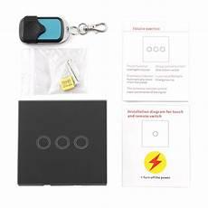 lichtschalter mit fernbedienung glas touchscreen