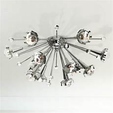 jonathan adler sputnik flush nickel ceiling light x1817 ls plus