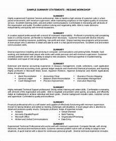 free 8 customer service resume sles in ms word pdf