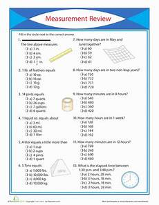 worksheets for 3rd grade measurements 3rd grade measurement worksheets free printables education com