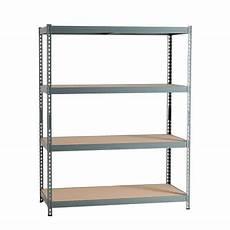 leroy merlin etagere garage 50036 scaffale metallo grigio spaceo 4 ripiani in legno l 150 x p 60 x h 190 cm prezzi e offerte