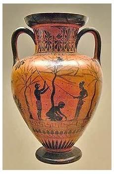 antico vaso a due anse l ulivo nella storia le rappresentazioni nei vasi antichi