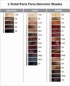 Loreal Feria 3d Color Chart 232 Best Images About Hair Color On Pinterest Manic