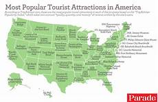 usa attractions map