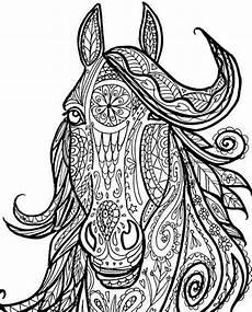pferde ausmalbilder erwachsene pferde 7 ausmalbilder f 252 r erwachsene