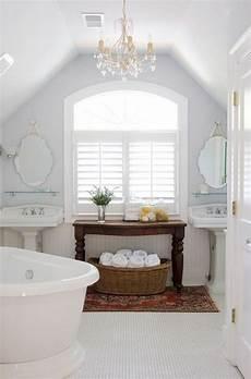 Attic Bathroom Design Ideas by White Attic Bathroom Decor